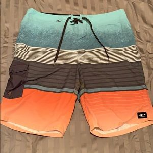O'Neill board shorts sized 36 inch waist